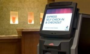kiosko de checkin hotel