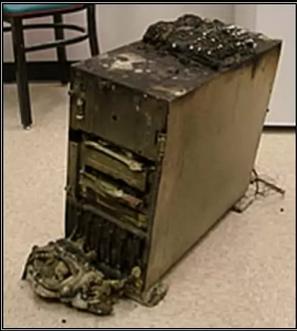 ordenador quemado informatica coruña