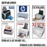reparacion impresoras plotters portatiles coruña