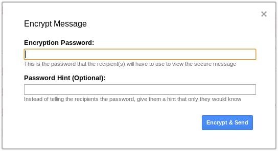 encriptacion gmail informacion coruña